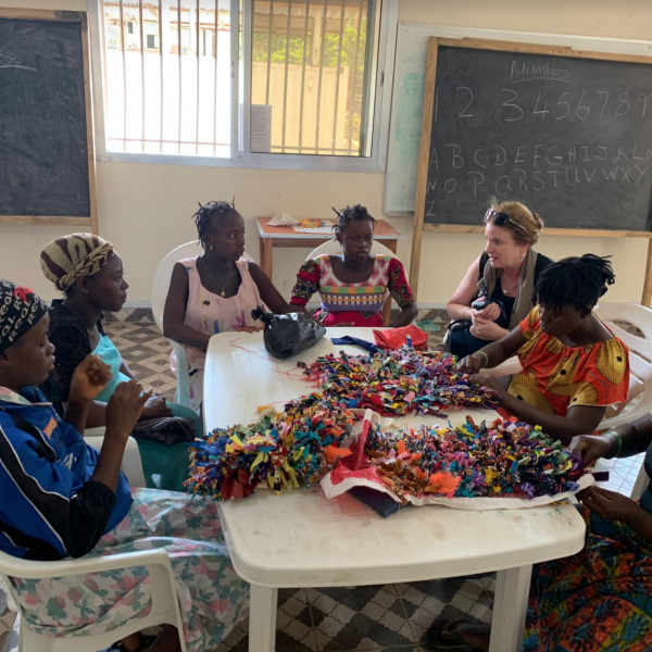 Africa, Sierra Leone, maternal health, Freetown, health, Sydney, charity, Aminata Maternal Foundation, Aberdeen Women's Centre, Freedom from Fistula Foundation, women's health, fistula patients making textiles, African women