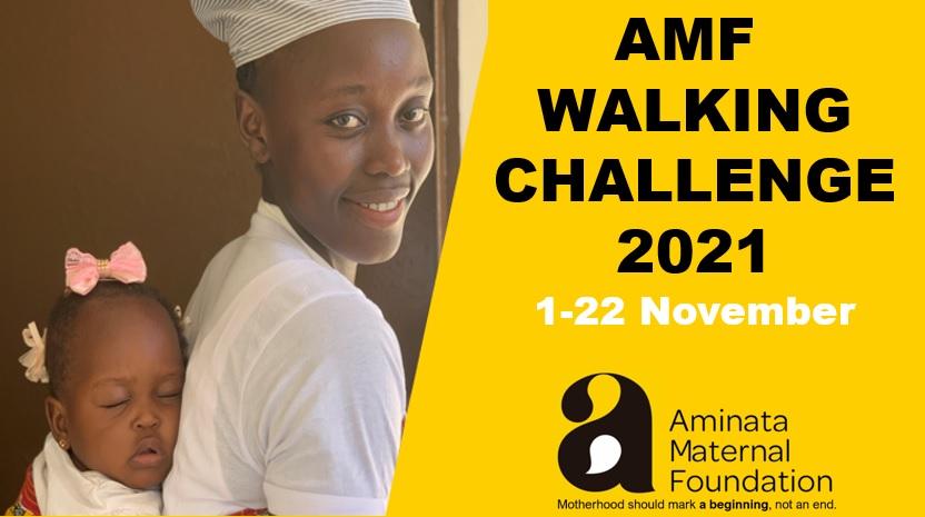 Raisely AMF Walking Challenge 2021